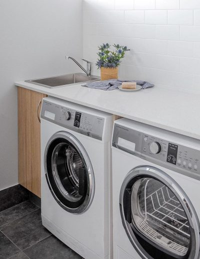 laundry renovation project